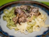 servera med pasta