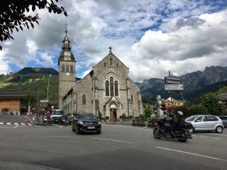 le grand bornand church
