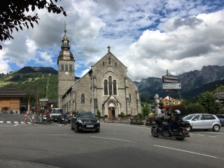 le grand bornand church
