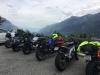 bikers resting france