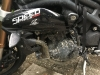 triumph speed triple dirty after water driving